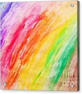 Colorful Painting Pattern Acrylic Print