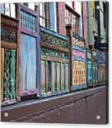 Colorful Portland Acrylic Print