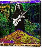 Colorful Pyramid Concert Acrylic Print