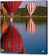 Colorful Reflection Acrylic Print