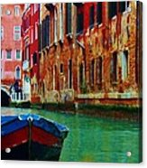 Colorful Relics Of Venice Acrylic Print