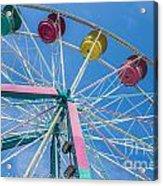 Colorful Ride Acrylic Print
