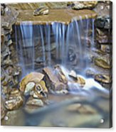 Colorful Rocks And Water Acrylic Print