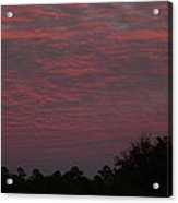 Colorful Sky Number 1 Acrylic Print