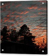 Colorful Sky Number 5 Acrylic Print