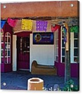 Colorful Store In Albuquerque Acrylic Print