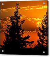 Colorful Sunset II Acrylic Print