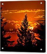 Colorful Sunset IIl Acrylic Print