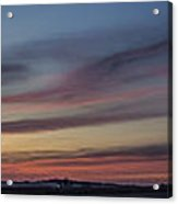 Colorful Sunset Spring 2013 Acrylic Print