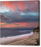 Colorful Swamis Sunset Acrylic Print
