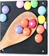 Colorful Sweets Acrylic Print