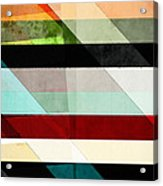 Colorful Textured Abstract Acrylic Print