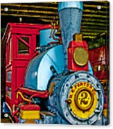 Colorful Train Acrylic Print