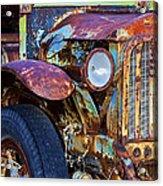 Colorful Vintage Car Acrylic Print