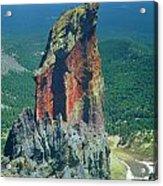 105830-colorful Volcanic Plug Acrylic Print