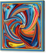 Colorful Waves Acrylic Print