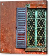 Colorful Window Acrylic Print