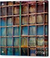 Colorful Windows  Acrylic Print