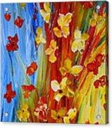 Colorful World Acrylic Print