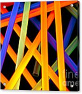 Coloring Between The Lines Acrylic Print