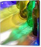 Coloring Bottles Acrylic Print