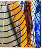 Colors And Lines Acrylic Print