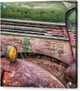 Colors Of Corrosion Acrylic Print