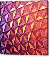 Colors Of Epcot Acrylic Print