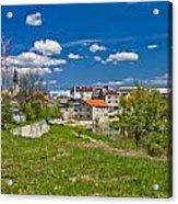 Colors Of Gospic Capital Of Lika Acrylic Print