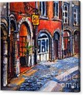 Colors Of Lyon 2 Acrylic Print