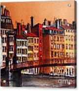 Colors Of Lyon I Acrylic Print