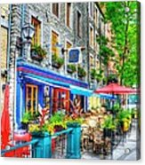 Colors Of Quebec 14 Acrylic Print