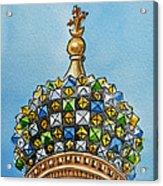 Colors Of Russia St Petersburg Cathedral IIi Acrylic Print by Irina Sztukowski