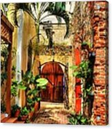 Colors Of Saint Thomas 1 Acrylic Print