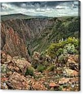 Colors Of The Black Canyon Acrylic Print