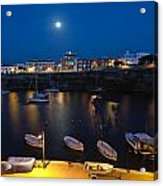 Cala Corb In Es Castell - Minorca - Colors Of The Moonlight   Acrylic Print