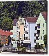 Colorul Houses In Germany Acrylic Print