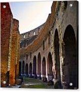 Colosseum Interior Acrylic Print