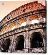 Colosseum Italy Acrylic Print