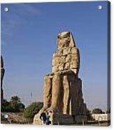 Colossi Of Memnon Egypt Acrylic Print