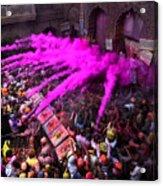 Colour Blast Acrylic Print