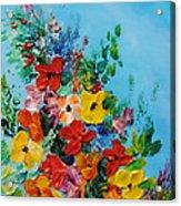 Colour Of Spring Acrylic Print