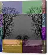 Colour Tile Acrylic Print