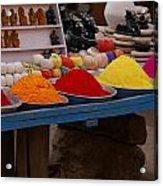 Coloured Powder Acrylic Print