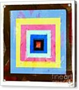 Coloured Squares Number 1 Acrylic Print