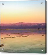 Colourful Dead Sea Acrylic Print