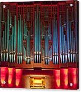 Colourful Organ Acrylic Print
