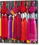 Colourful Souvenirs In China Acrylic Print