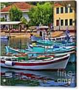 Colours Of Greece Acrylic Print