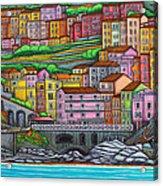 Colours Of Manarola Acrylic Print